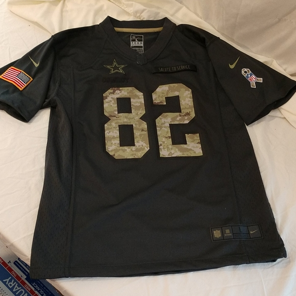 NFL Salute to Service Dallas Cowboy Jersey